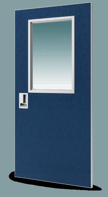 Sl 17 Pebble Grain Frp Aluminum Hybrid Door Special Lite