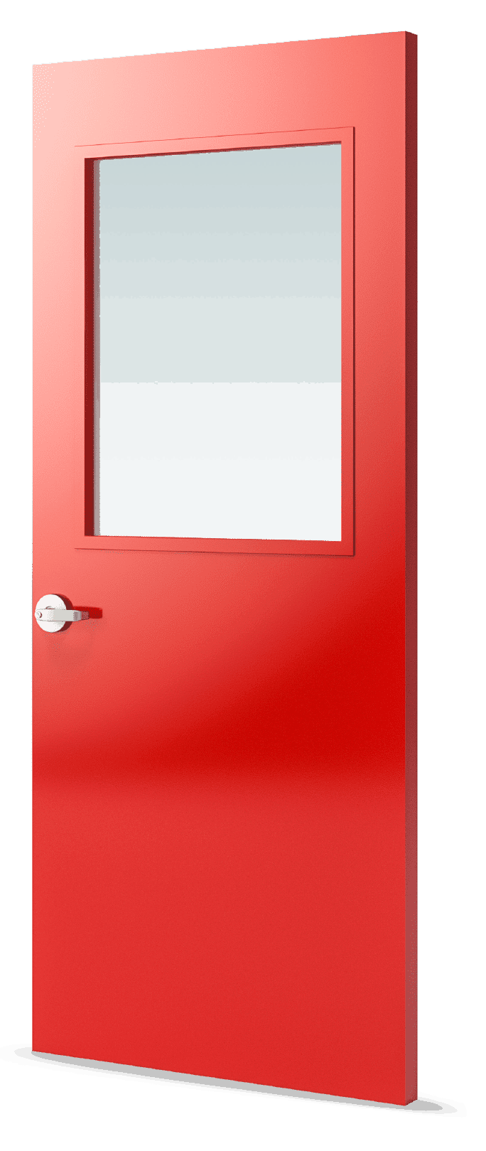 Af 100 Smooth Pultruded Fiberglass Door Special Lite